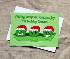 Christmas Birthday Cards Peas Love Joy Christmas Card Awesome Sauce Designs