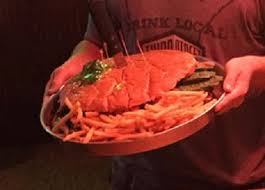 Clifford's Steak House's 7lb Burger Challenge - FoodChallenges.com ...
