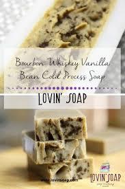 Bourbon Whiskey Vanilla Bean Cold Process Soap
