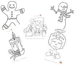 Disegni Di Natale Da Colorare Per Bambini Con Disegni Di Giochi Per