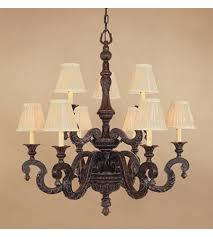 designers fountain granville 9 light chandelier in etruscan bronze 98989 etb photo