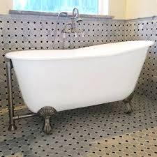 gentry 54 inch cast iron swedish soaker 54 inch bathtub 54 bathtub surround