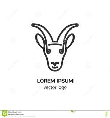 Capricorn Logo Design Vector Logo Design Template For Capricorn Stock Vector