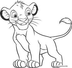 Small Picture Coloring Page Of A Lion Latest Nala The Lion King Coloring Page