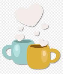 tea cup heart clip art. Contemporary Art Qixi Festival Coffee Cup Clip Art  Heart With Tea C