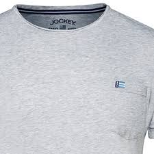 Jockey Pyjama T Shirt For Men Heather Grey In Large Sizes Up To 6xl