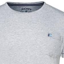Jockey Men S T Shirts Size Chart Jockey Pyjama T Shirt For Men Heather Grey In Large Sizes Up To 6xl