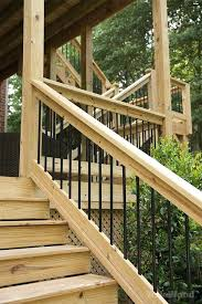 wood deck railing ideas diy wood deck railing designs