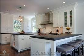 leathered granite countertops photo of amusing and absolute black