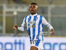 Josè Machin of Pescara Calcio in action during Serie B match between... News  Photo - Getty Images