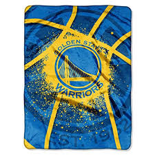 Warriors Throw Blanket