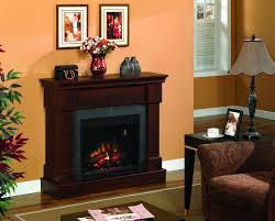 42 inch franklin brown cherry convertible electric fireplace classic flame
