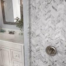 featured calacatta cressa leaf pattern marble tile