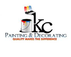 Painting And Decorating Logo Design K C PAINTING DECORATING logo design contest logos by Adzar Karomy 2