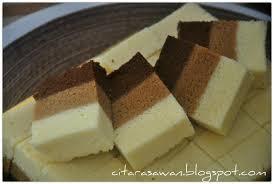 Kek Kukus Coklat Mocha Putih Telur Resepi Terbaik Bakes