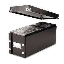 Amazon.com: Snap-N-Store CD Storage Box, 13.25 x 5.125 x 5.125 ...