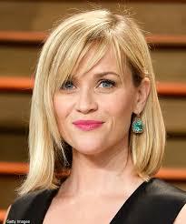 Reese Witherspoon Mit Long Bob Und Schr Gem Pony Bilder Madame De