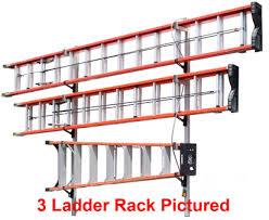 Single Locking Ladder Rack Full Size Vans