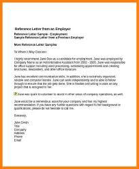 Employer Reference Letter Samples Ideal Vistalist Co