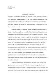 40 Autobiography Examples Autobiographical Essay Templates
