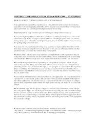 A College Essay Examples Personal Statement Template For College Chanceinc Co