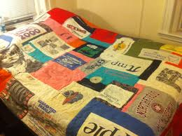 Happy Birthday | TMS Forum (The Mindbody Syndrome) & To keep her self occupied in the winter, my stepmother made the following quilt  out of my old t-shirts, which she gave me as a birthday present. Adamdwight.com