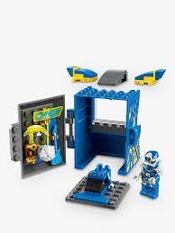 LEGO Ninjago 71715 Jay Avatar Arcade Pod at John Lewis & Partners