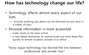 technology has changed our lives essay cepinnovations technology has changed our lives essay