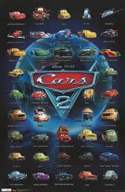 cars 2 the movie cover. Plain Cars Cars II Poster Which Character Are You And 2 The Movie Cover S
