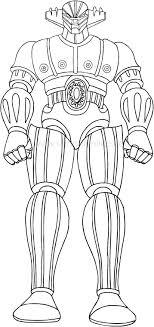 Disegni Di Jeeg Robot Dacciaio Da Colorare
