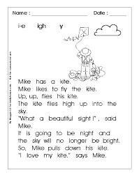 Phonics Reading Worksheets For Kindergarten   Siteleri.info