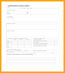 Change Order Proposal Template