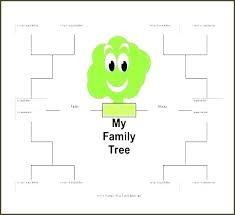 Genealogy Symbols Charts Easy Family Tree Template