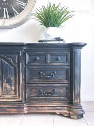 furniture painting techniquesBalayage Inspired DIY Painted Furniture  Thirty Eighth Street