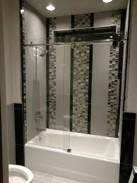 roller shower enclosure install
