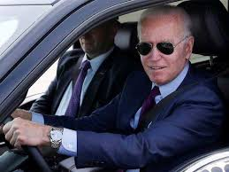 Ford F-150: Why is Joe Biden driving a battery-powered Ford F-150? - Avid  car enthusiast Joe Biden   The Economic Times