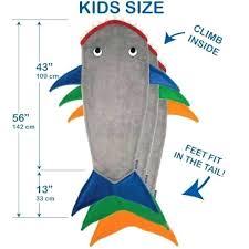 Shark Size Chart Kids Shark Blanket Sim Smatch