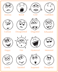 Small Picture Strikingly Idea Emotion Faces Coloring Pages 2 Feelings And