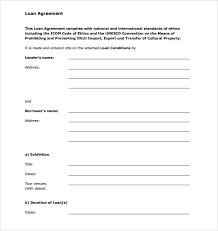 Family Loan Template Sample Personal Loan Agreement Gtld World Congress