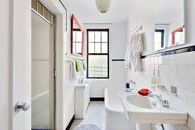 Bright White amp Clean Bathrooms Apartment Therapy