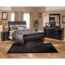 Sleigh Bed Bedroom Furniture Queen Sleigh Bed 5 Pc Bedroom Package