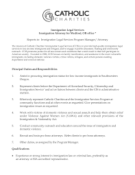 Cosyigration Lawyer Resume In Attorney Cover Letter Of Example