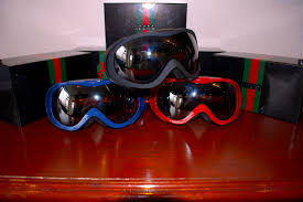 gucci goggles. gucci ski goggles as seen above are for sale at imsolovenyc headquarters in three colorways of black , shiny blue \u0026 red click after the jump more