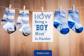 Mom Of Boys Quotes Cool How Being A Boy Mom Is Harder IMom