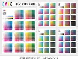 Printing Colour Chart Printing Colour Chart Images Stock Photos Vectors