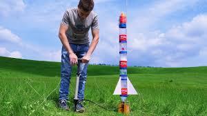 Best Parachute Design For Bottle Rocket Building Powerful Dual Thrust Water Rocket With Parachute