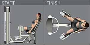 Image result for hip abductor machine form