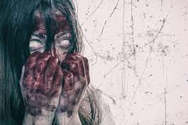Wallpaper : horror, blood, women ...