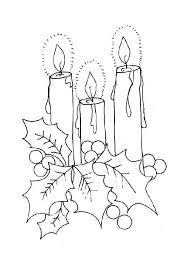 Kleurplaat Kerst Kleurplaat Kerst Kaars Animaatjesnl