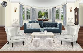 Havenly Designer Pay Classic Glam Traditional Living Room Design By Havenly
